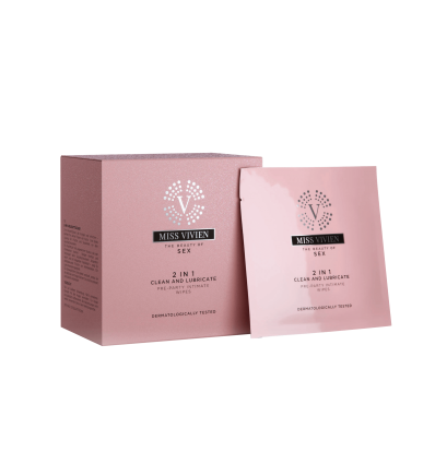 2 IN 1 (CLEAN AND LUBRICATE) PRE-PARTY INTIMATE WIPES
